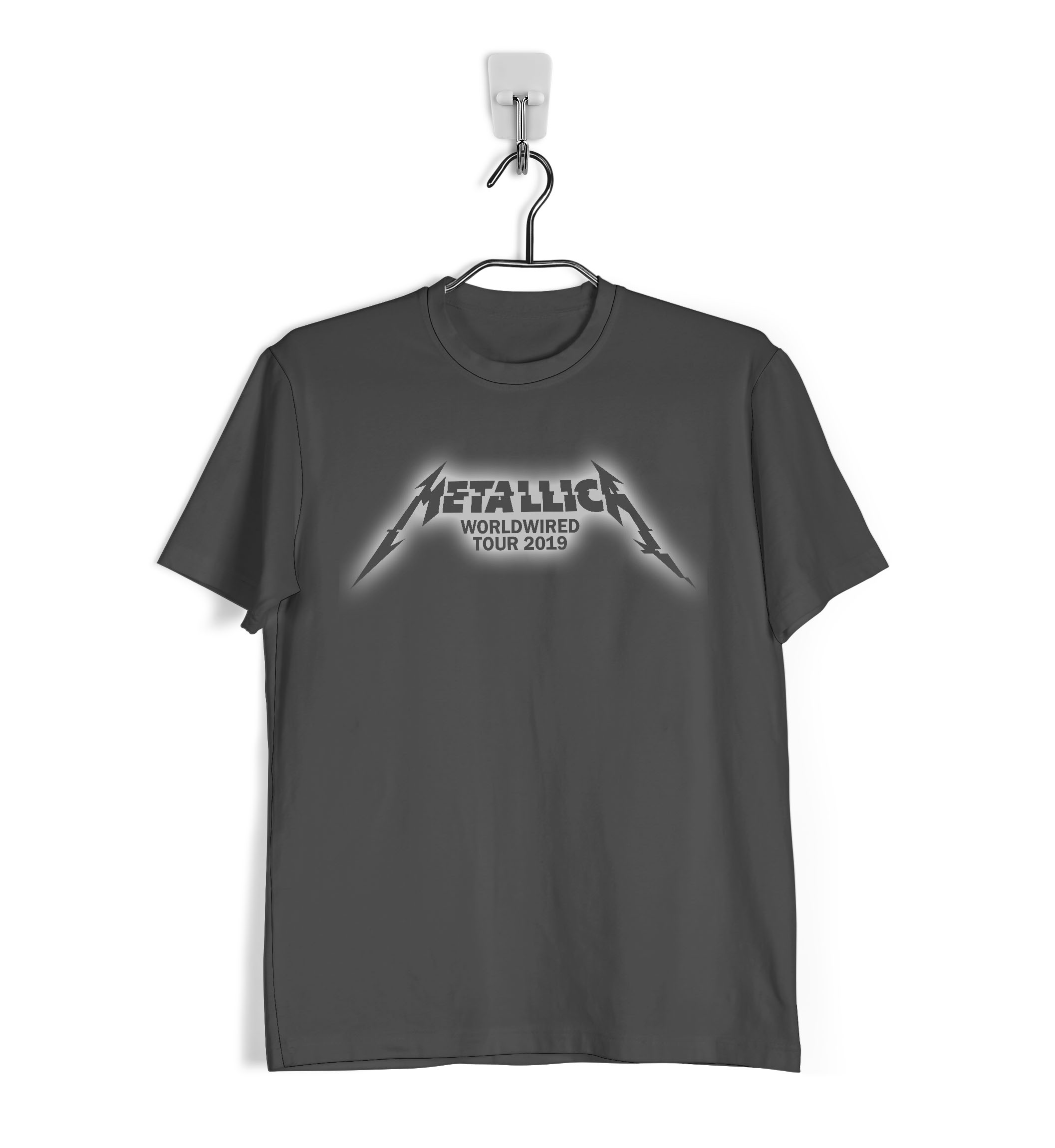 Tienda Metallica 2019 De Ropa4Tu Worldwired Camiseta Tour 9YeWHEID2b